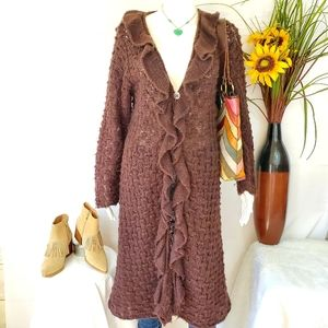 Anthropologie April Cornell soft knit long cardi
